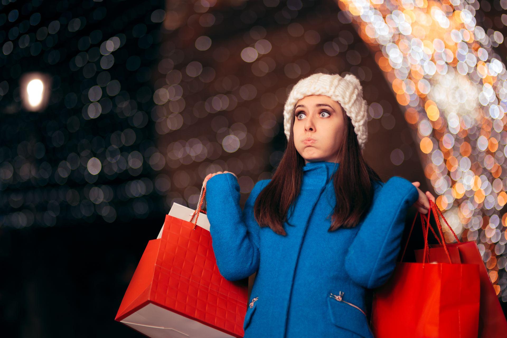 Holiday Stress - Shopping